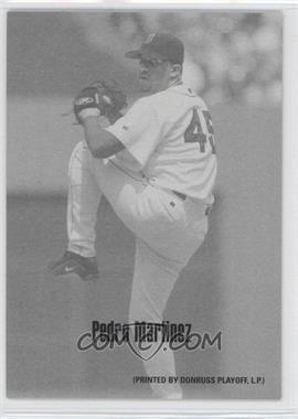 2004 Leaf - Exhibits - 1947-66 PDPSCR Printed by Donruss Playoff Print Name #35 - Pedro Martinez /66