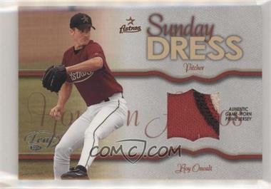 2004 Leaf - Sunday Dress - Jerseys Prime [Memorabilia] #SD-6 - Roy Oswalt /100
