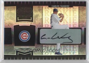 2004 Leaf Certified Cuts - [Base] #256 - Carlos Vasquez /499
