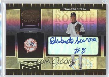 2004 Leaf Certified Cuts - [Base] #263 - Eduardo Sierra /299