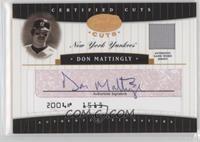 Don Mattingly #/10