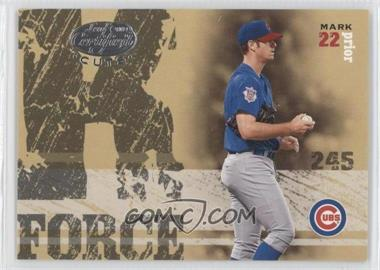 2004 Leaf Certified Cuts - K Force #KF-45 - Mark Prior, Kerry Wood /500