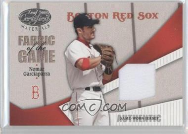 2004 Leaf Certified Materials - Fabric of the Game #FG-183 - Nomar Garciaparra /100