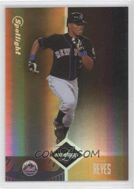 2004 Leaf Limited - [Base] - Spotlight Gold #73 - Jose Reyes /25