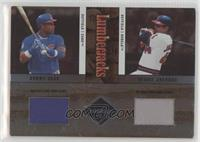 Reggie Jackson, Sammy Sosa [EX to NM] #/100