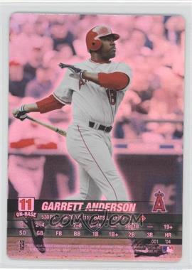 2004 MLB Showdown - [Base] #001 - Garret Anderson