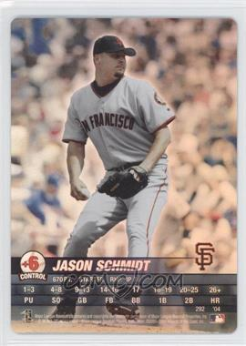 2004 MLB Showdown - [Base] #292 - Jason Schmidt
