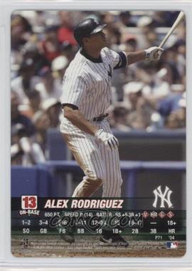 2004 MLB Showdown - Promo #P71 - Alex Rodriguez