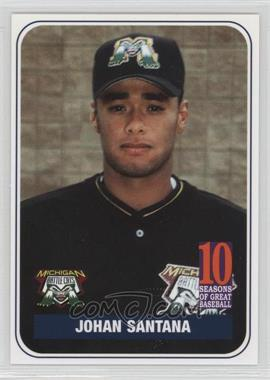 2004 Michigan Battle Cats/Battle Creek Yankees 10 Sesons on Great Baseball Team Issue - [Base] #JOSA - Johan Santana