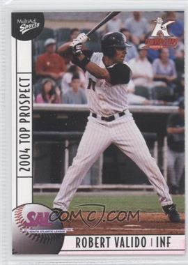 2004 Multi-Ad Sports South Atlantic League Top Prospects - [Base] #31 - Robert Valido