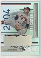 Warren Spahn [Noted] #/10