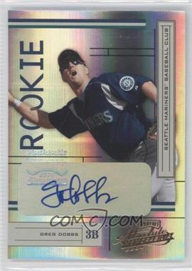 2004 Playoff Absolute Memorabilia - [Base] #234 - Greg Dobbs /500