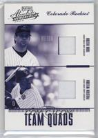 Todd Helton, Preston Wilson, Larry Walker, Jason Jennings /100