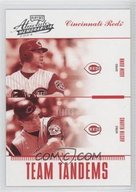 2004 Playoff Absolute Memorabilia - Team Tandems #TAN-10 - Adam Dunn, Austin Kearns /250