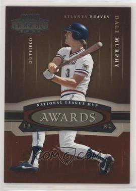 2004 Playoff Honors - Awards #A-18 - Dale Murphy /1982
