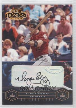 2004 Playoff Honors - [Base] - Bronze Signatures [Autographed] #91 - Morgan Ensberg