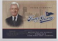 Peter Gammons