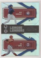 Alex Rodriguez, Jim Thome [Noted] #/10