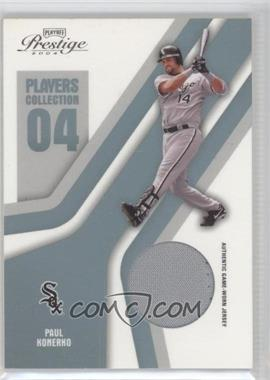 2004 Playoff Prestige - Players Collection Relics - Platinum #PC-67 - Paul Konerko /50