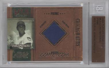 2004 Playoff Prime Cuts - MLB Icons - Materials [Memorabilia] #MLB-63 - Fergie Jenkins /19 [BGS AUTHENTIC]