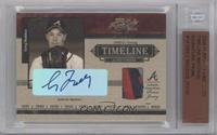Greg Maddux [BGS Authentic] #/50
