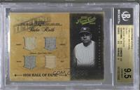 Babe Ruth [BGS 9.5 GEM MINT] #/25