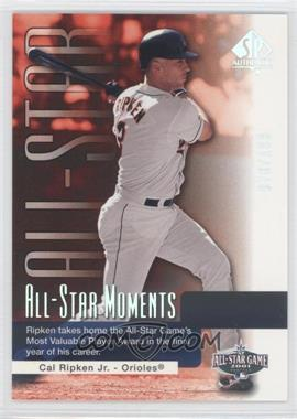 2004 SP Authentic - [Base] - Gold #173 - Cal Ripken Jr. /199