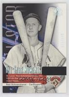 Red Schoendienst [EX to NM] #/999
