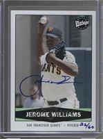 Jerome Williams #/60