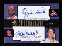 Ozzie Smith, Stan Musial #/50