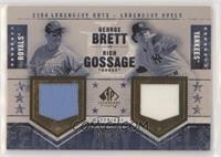 George Brett, Rich 'Goose' Gossage #/25