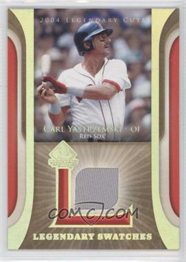 2004 SP Legendary Cuts - Legendary Swatches #LSW-CY - Carl Yastrzemski