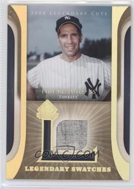 2004 SP Legendary Cuts - Legendary Swatches #LSW-RI - Phil Rizzuto