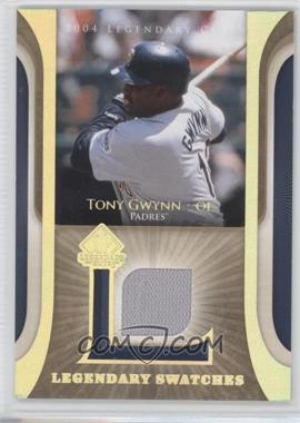 2004 SP Legendary Cuts - Legendary Swatches #LSW-TG - Tony Gwynn