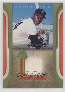 2004 SP Legendary Cuts - Legendary Swatches #LSW-WM - Willie McCovey