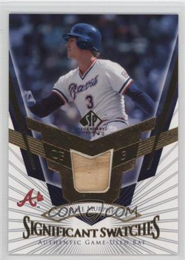 2004 SP Legendary Cuts - SIGnificant Swatches #SS-DM - Dale Murphy
