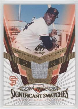 2004 SP Legendary Cuts - SIGnificant Swatches #SS-WM - Willie McCovey