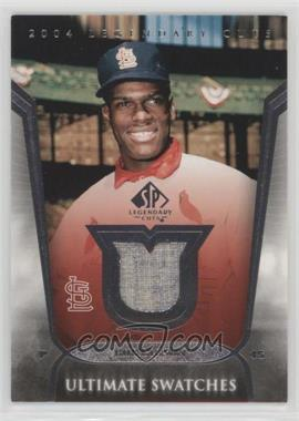 2004 SP Legendary Cuts - Ultimate Swatches #US-BG - Bob Gibson