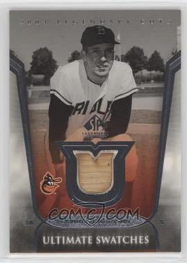 2004 SP Legendary Cuts - Ultimate Swatches #US-BR - Brooks Robinson