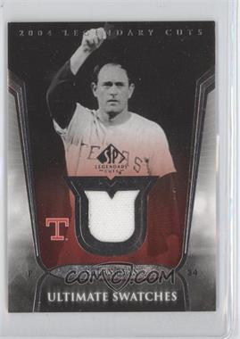 2004 SP Legendary Cuts - Ultimate Swatches #US-NR - Nolan Ryan