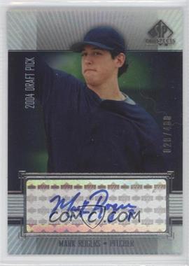 2004 SP Prospects - [Base] #292 - Mark Rogers /400