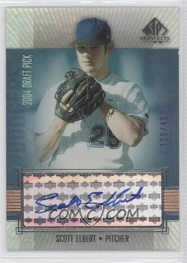 2004 SP Prospects - [Base] #299 - Scott Elbert /400