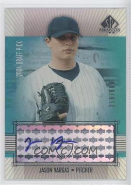 2004 SP Prospects - [Base] #343 - Jason Vargas /600