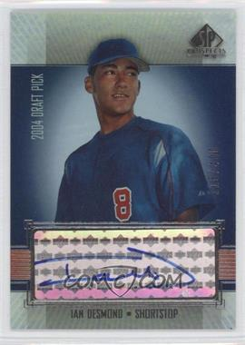 2004 SP Prospects - [Base] #357 - Ian Desmond /400