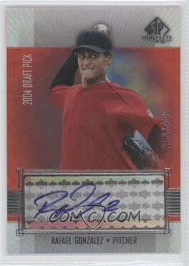 2004 SP Prospects - [Base] #381 - Rafael Gonzalez /400