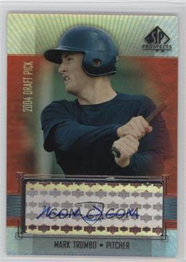 2004 SP Prospects - [Base] #444 - Mark Trumbo /400