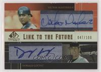 Victor Martinez, Donald Lucy #/100