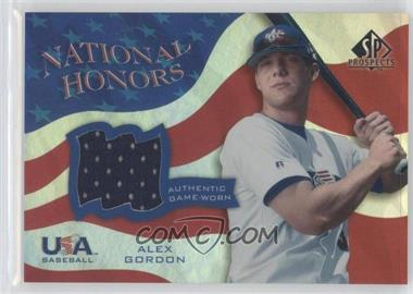 2004 SP Prospects - USA Baseball National Honors #NH-AG - Alex Gordon