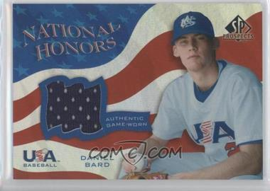 2004 SP Prospects - USA Baseball National Honors #NH-DB - Daniel Bard