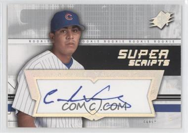2004 SPx - Super Scripts Rookie Autographs #SU-CV - Carlos Vasquez